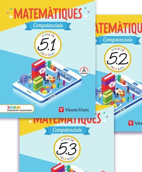 Quadern matematiques competenc.5ºep valen.19 zoom