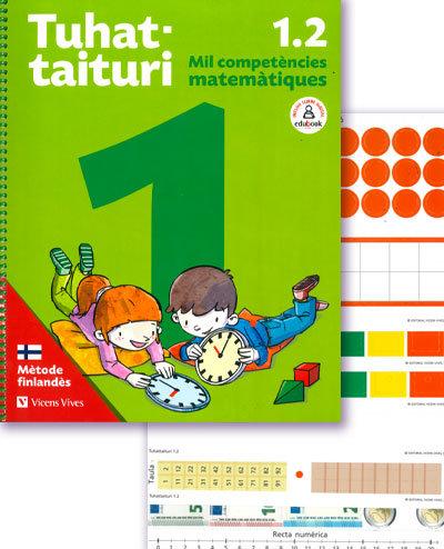 Matematiques 1ºep tuhattaituri 1.2+fitxes cata.19