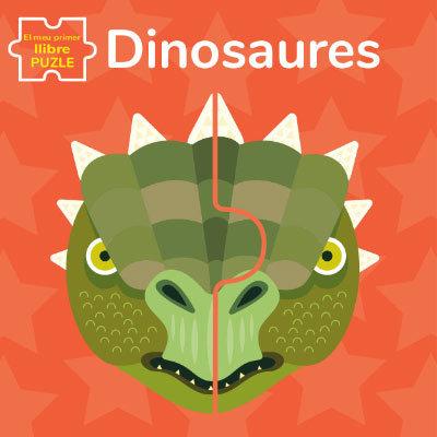 Dinosaures el meu primer llibre puzle cata