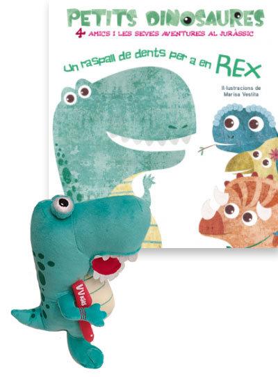 Rex+ un raspall de dents per a en rex (vvki