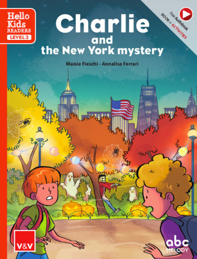 Charlie and the new york mystery hello kids