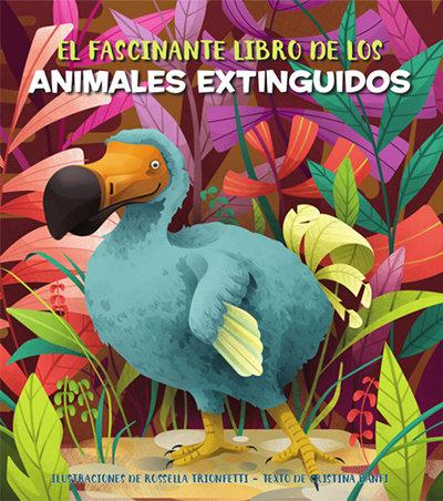 Fascinante libro de los animales extinguidos vvkids