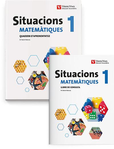 Matematiques 1ºeso lib+quadern catalan 20 situacio