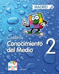 Conocimiento del medio 2 pixel cuaderno ep2 ed.201