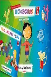 Lectoescritura 2 pauta montessori 13 dana letras