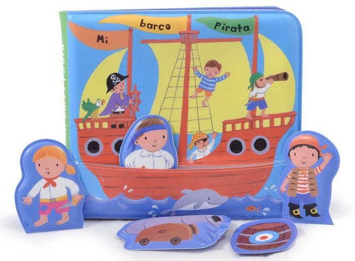 Mi barco pirata libro baño