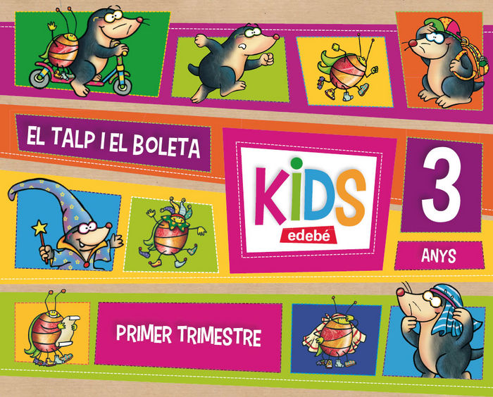 Kids 3años 1ºtrim. cataluña