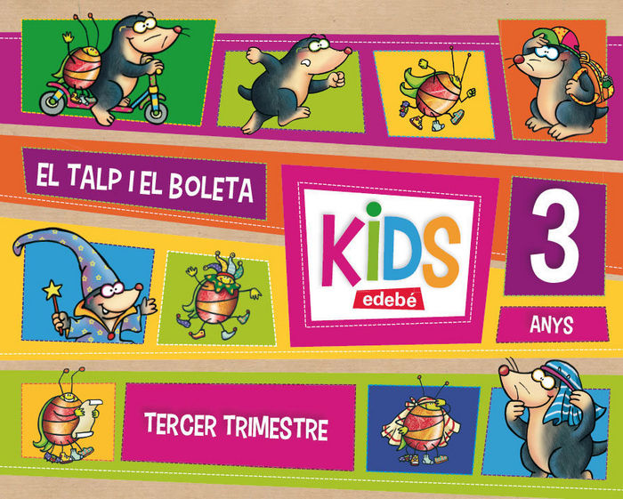 Kids 3años 3ºtrim. cataluña