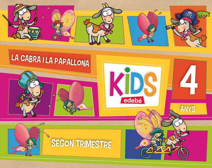 Kids 4años 2ºtrim. cataluña