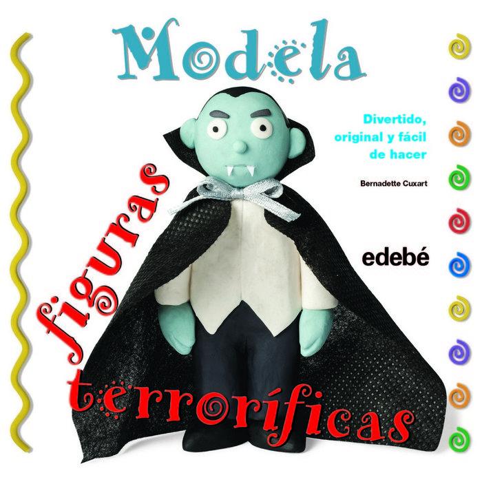 Modela figuras terrorificas con plastilina