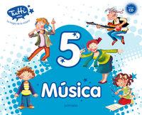 Musica 5ºep tutti+cd 14 mec
