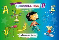 Quadern lectoescriptura 1 4anys catalan 14