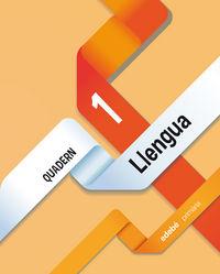 Llengua cuaderno 1 (catalan) obra colectiva