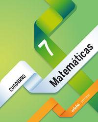 Cuaderno matematicas 7 ep 14