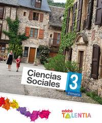 Ciencias sociales 3ºep talentia 14 mec
