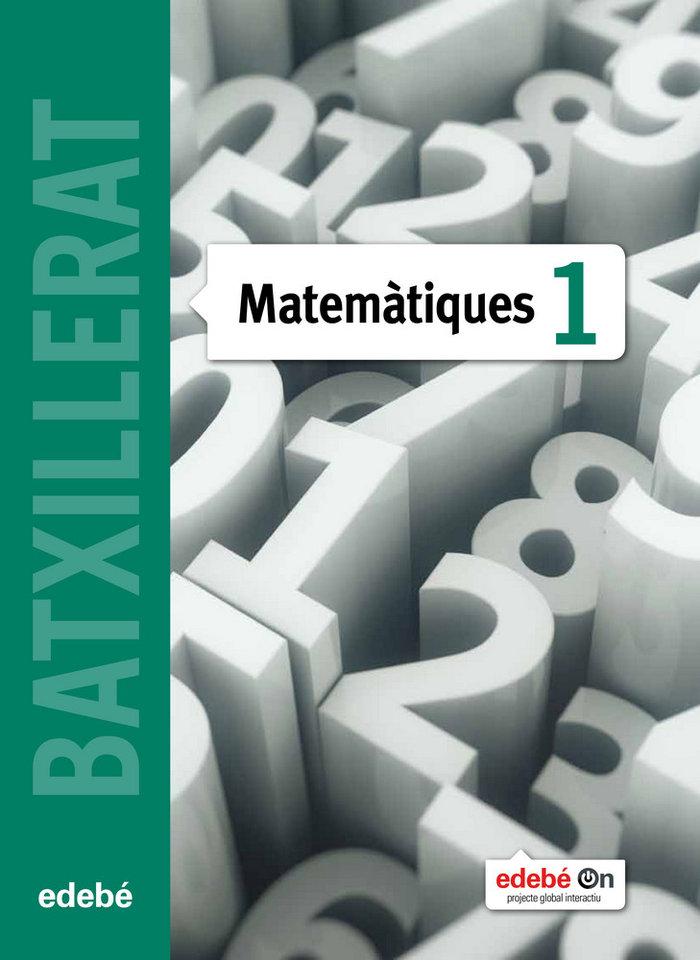 Matematiques 1ºnb cataluña