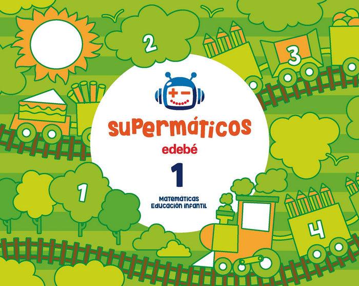Cuad.matematicas 1 3años 1ºtrim. 17 supermaticos