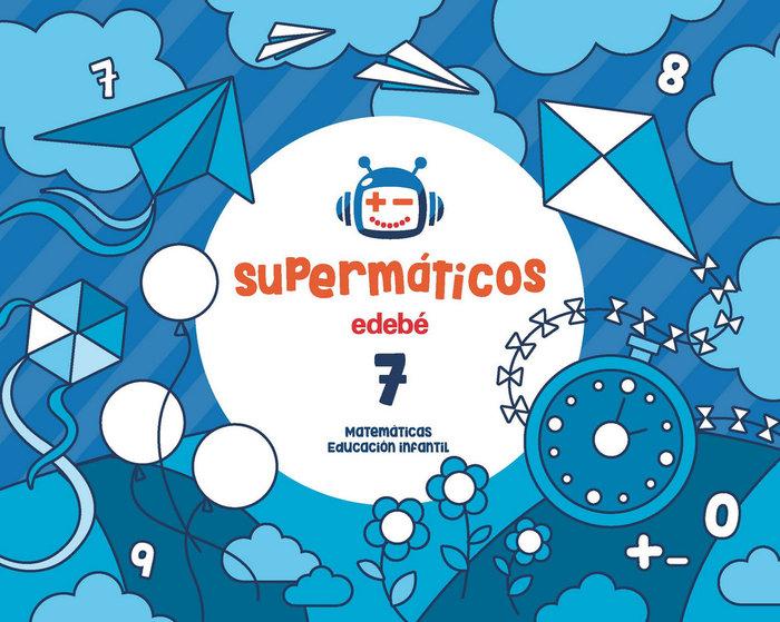 Cuad.matematicas 7 5años 1ºtrim. 17 supermaticos