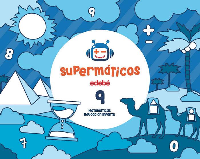 Cuad.matematicas 9 5años 3ºtrim. 17 supermaticos