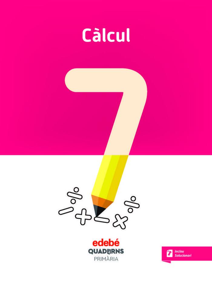 Quadern calcul 7 ep cataluña 18