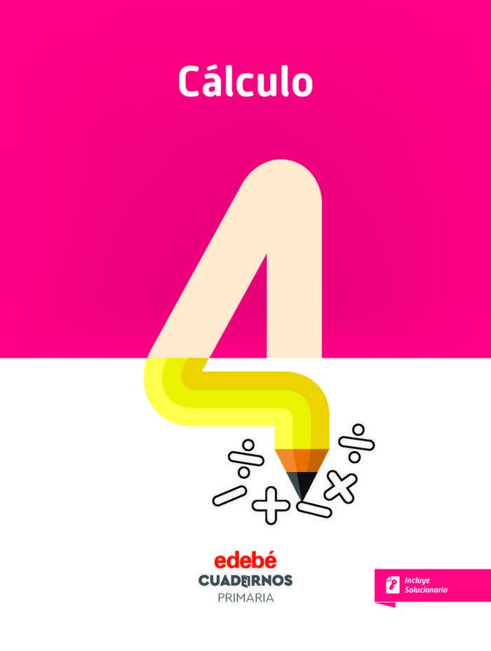 Cuaderno calculo 4 2ºep 18