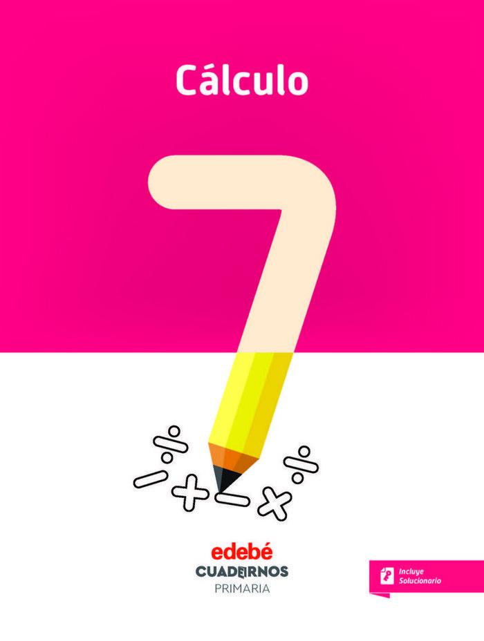 Cuaderno calculo 7 3ºep 18