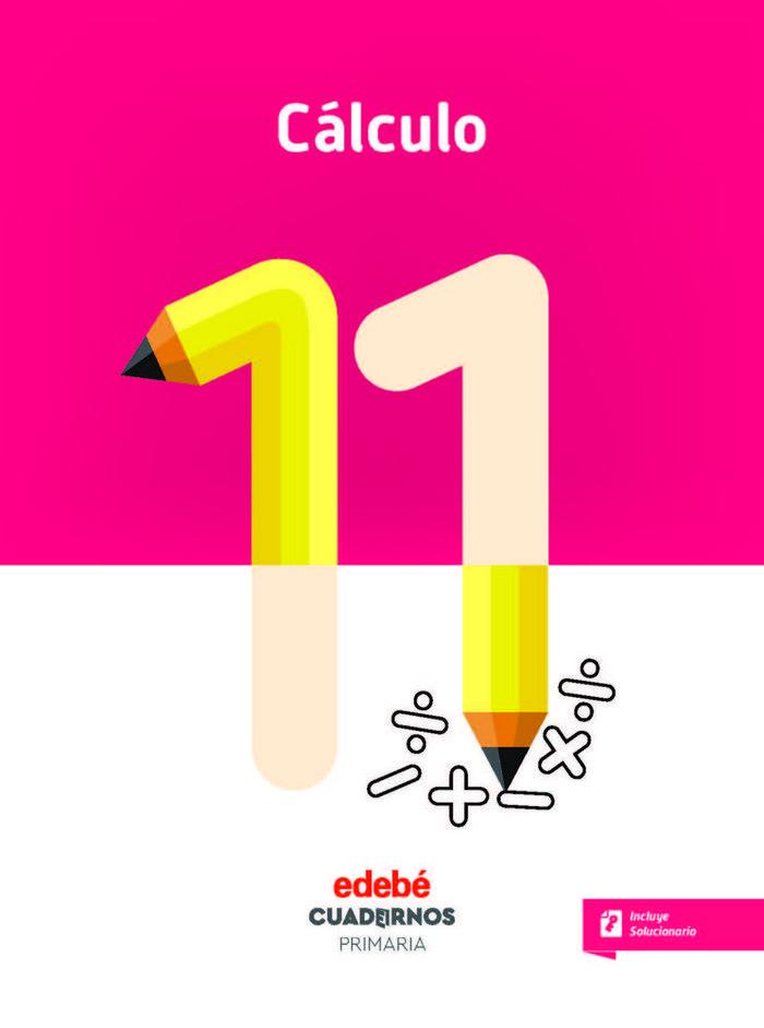 Cuaderno calculo 11 5ºep 18