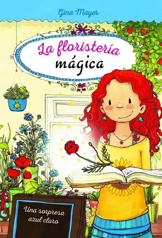 Floristeria magica 6 una sorpresa azul claro
