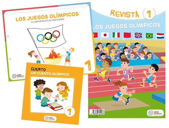 Juegos olimpicos 3años ei 19 lo importante es part