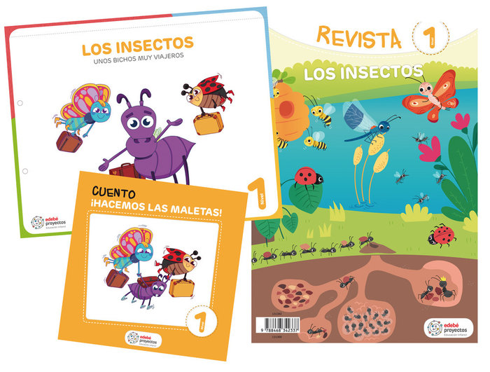 Insectos 3años ei 19 unos bichos muy viajeros