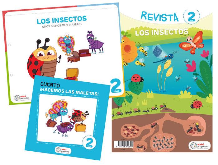 Insectos 4años ei 19 unos bichos muy viajeros