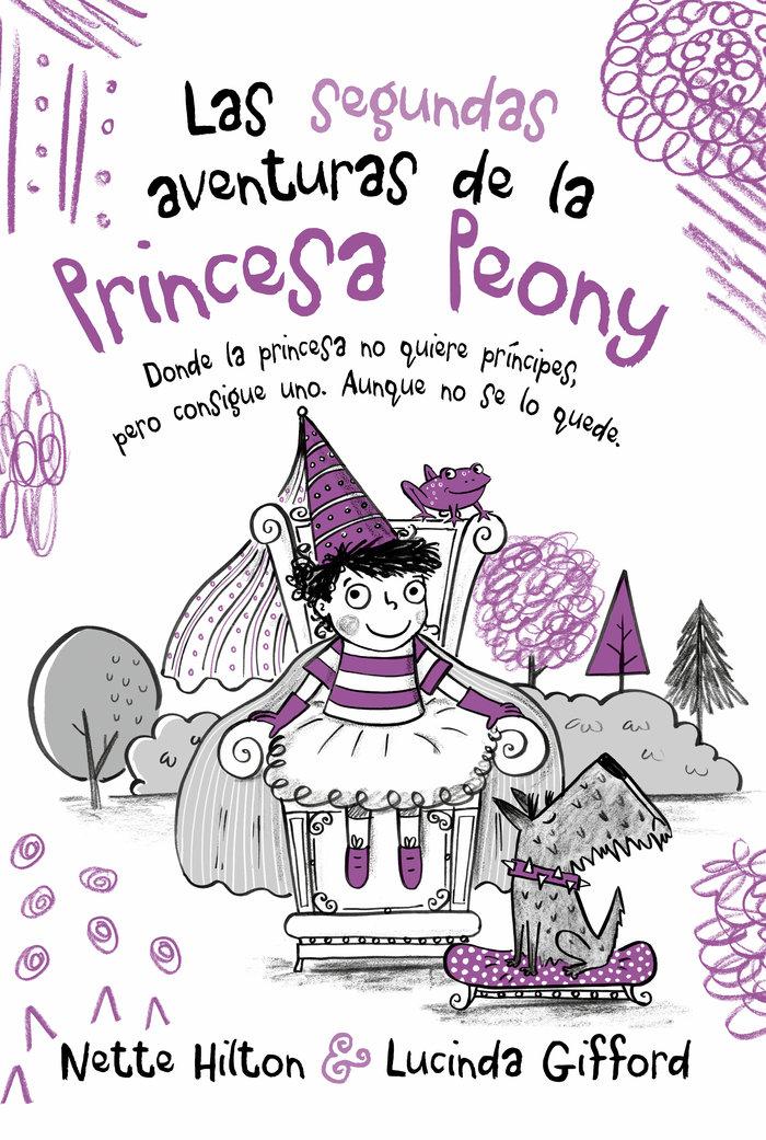 Segundas aventuras de la princesa peony 2,las