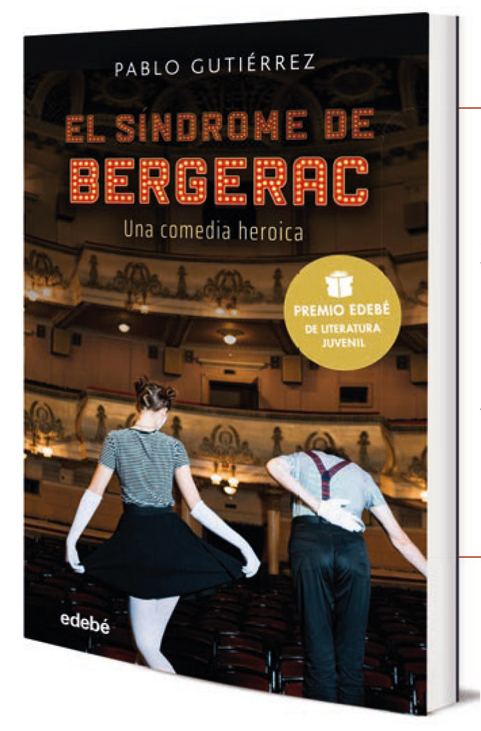 Sindrome de bergerac, premio juvenil literatura edebe 2021