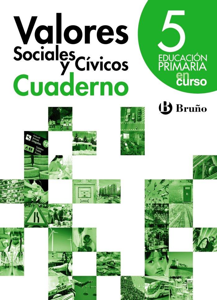 Cuaderno valores social.civicos 5ºep 14 en curso