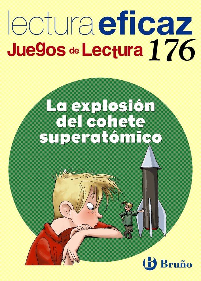 Explosion del cohete superatomico,la juegos lectur