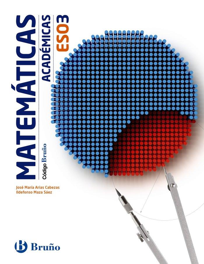 Matematicas 3ºeso academicas mec 15 codigo bruño
