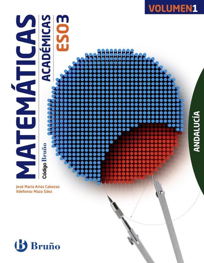 Matematicas academicas 3ºeso trim.16 andalucia