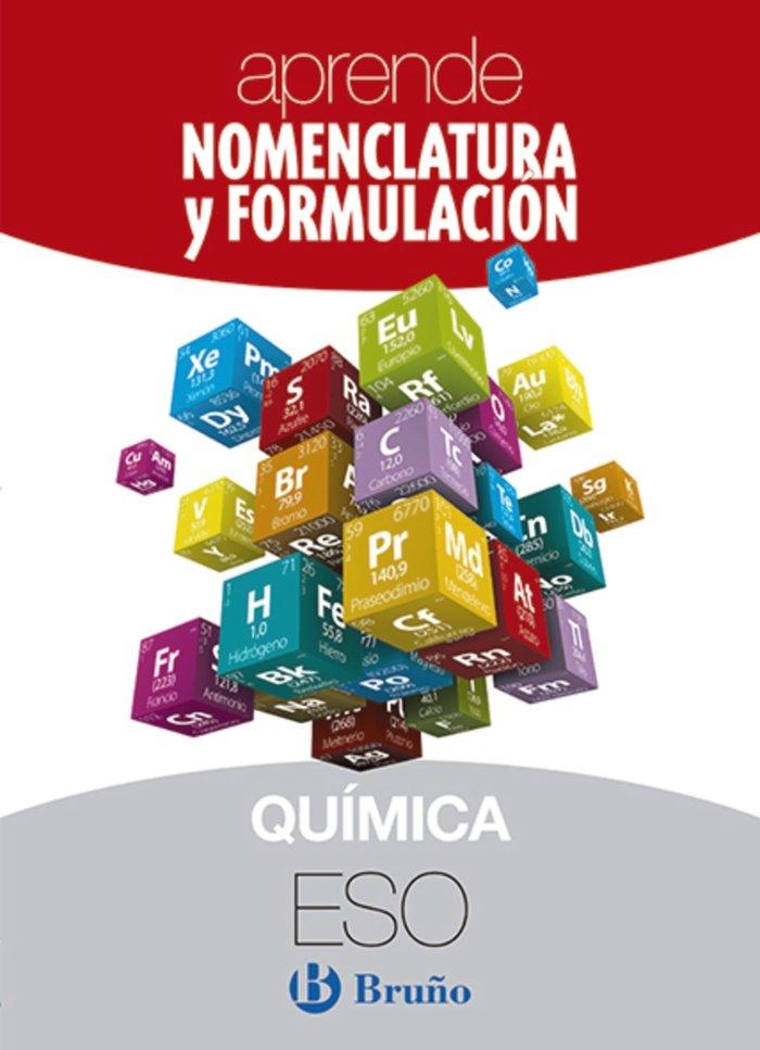 Aprende nomenclatura formulac.quimica eso 18