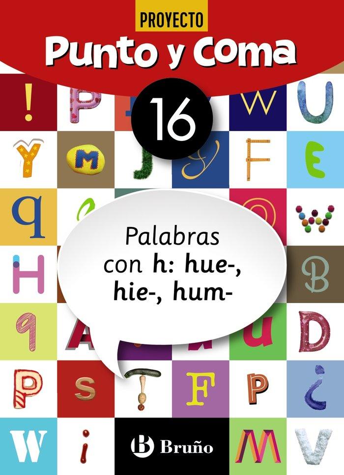 Cuaderno lengua 16 punto y coma 19