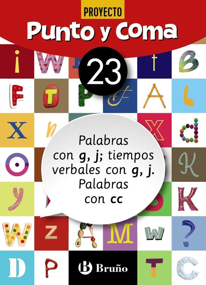Cuaderno lengua 23 punto y coma 19