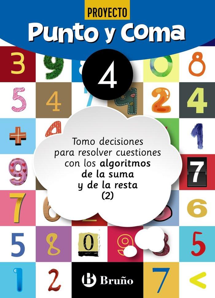 Cuaderno matemáticas 4 punto y coma 19