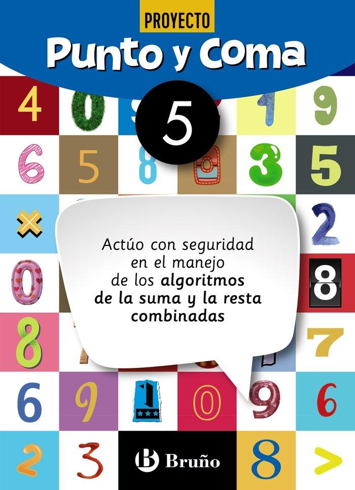 Cuaderno matemáticas 5 punto y coma 19