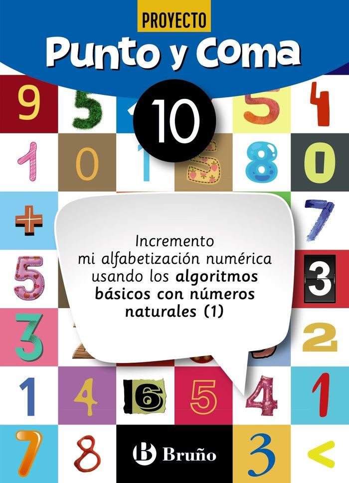 Cuaderno matemáticas 10 punto y coma 19