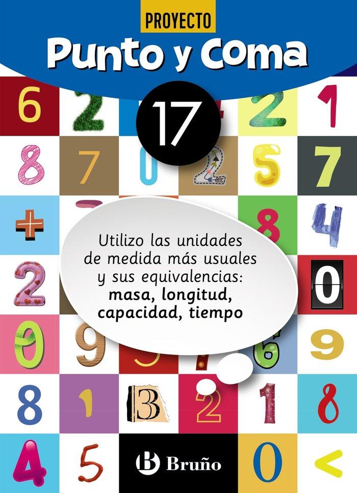 Cuaderno matemáticas 17 punto y coma 19