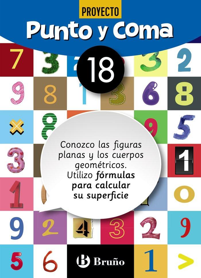Cuaderno matemáticas 18 punto y coma 19
