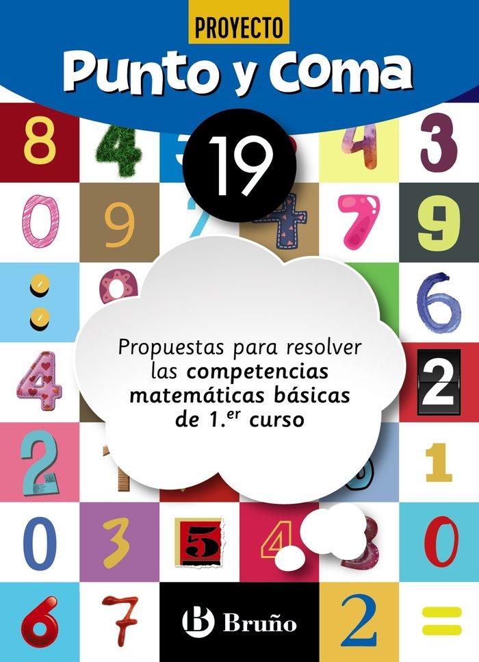 Cuaderno matemáticas 19 punto y coma 19