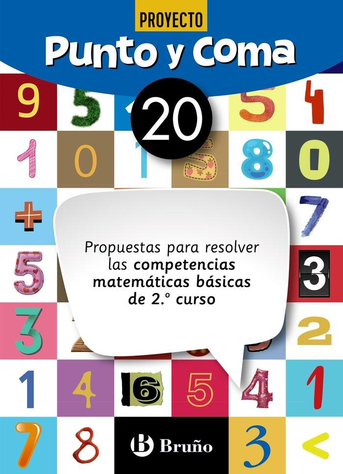 Cuaderno matemáticas 20 punto y coma 19