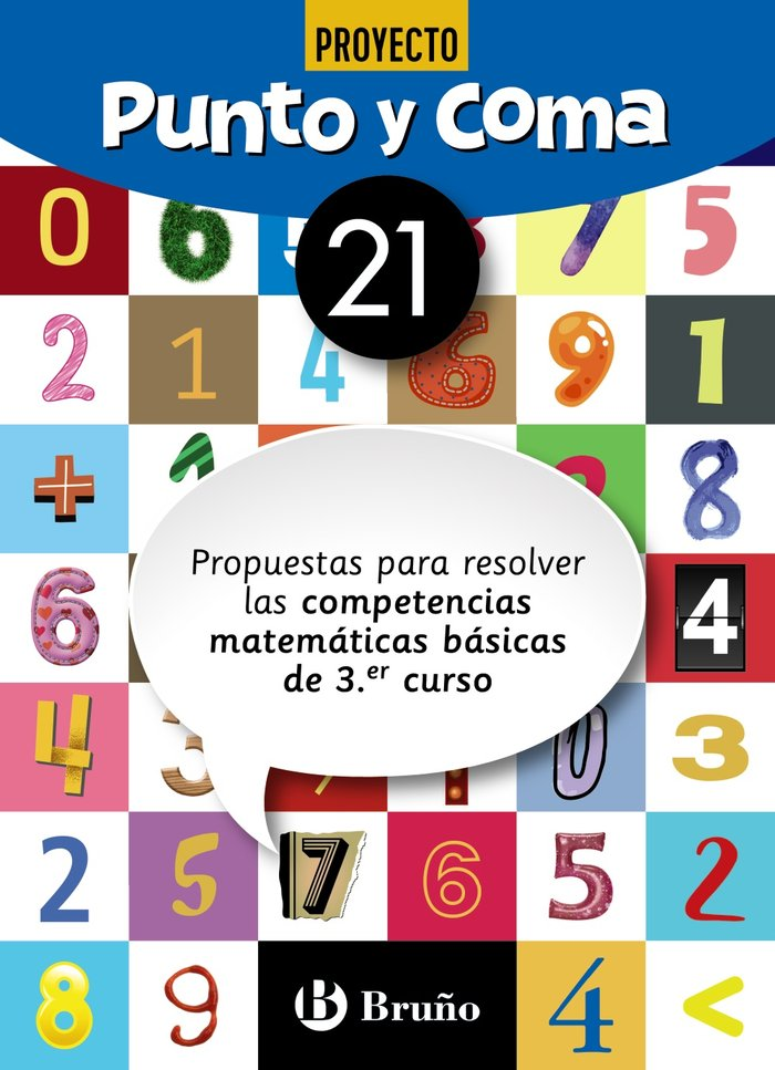 Cuaderno matemáticas 21 punto y coma 19
