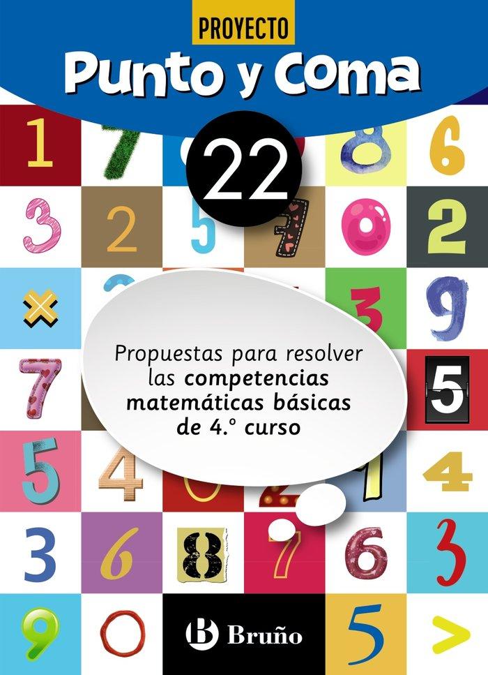 Cuaderno matemáticas 22 punto y coma 19