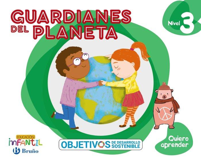 Quiero aprender 3 5años guardianes planeta 20